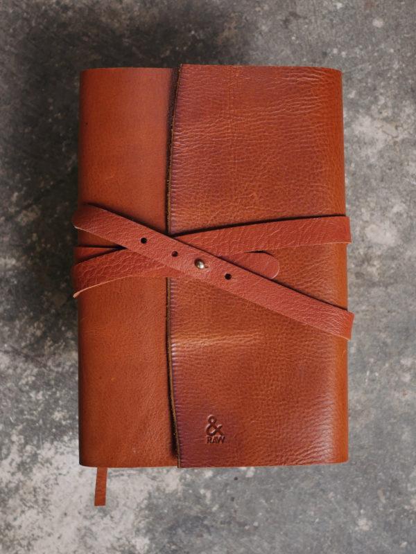 Notes ze skóry na prezent, skórzany przepiśnik na prezent dla szefa kuchni